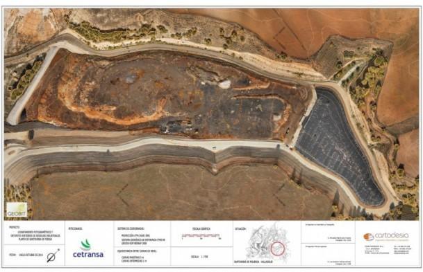 CARTODESIA realiza el seguimiento anual de control de vertidos en el CTRI de SANTOVENIA DE PISUERGA